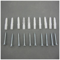 Nylon wall plug/plastic anchor screws