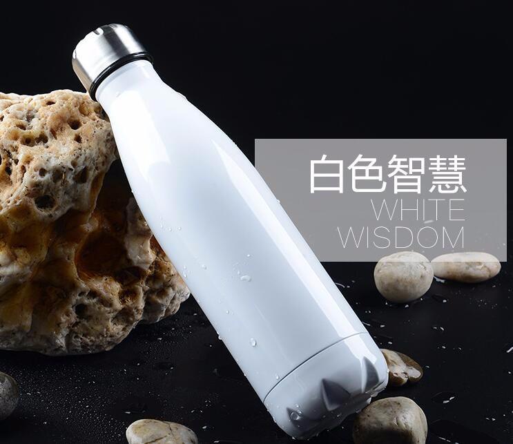 Isolation sous vide en acier inoxydable bouteille d'eau, bouteille shaker de l'eau