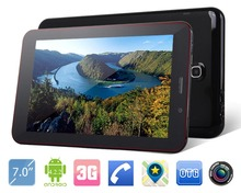 Cheapest 7 inch 3g phone tablet pc free shipping to argentina
