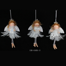 Best White Christmas Tree Hanging Angel Ornament