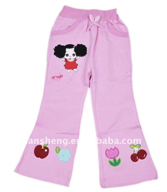 children garmen, children girls cotton trousers