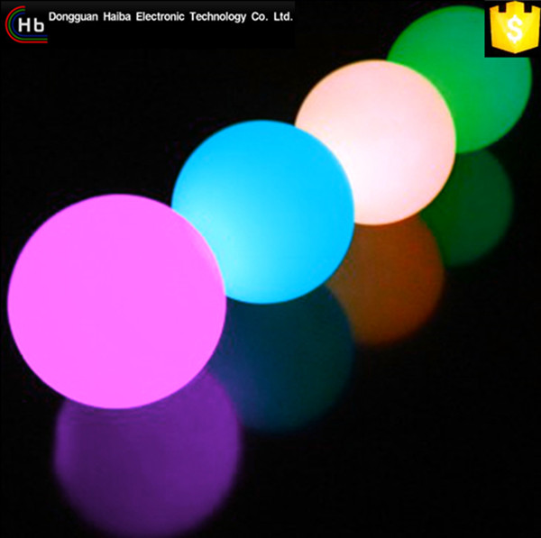 RGB Color Flash Beautiful Waterproof Underwater Float Disco Ball Light solar led ball light outdoor
