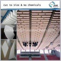 Henan stocked melamine foam acoustic ceiling block