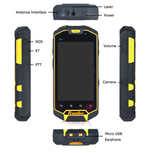 russian display hot sale Rugged Android Smartphone runbo q5s wateproof phone