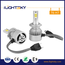 Cheap price high quality super bright 6000k 30w cob car led headlight h7 for cars