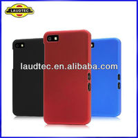 Hybrid Hard Case Cover For Blackberry Z10 BB 10,Rubberized Hard Back case cover,All color avialble--Laudtec