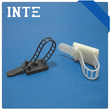 Nylon cable tie holder/wire tie mount cable tie mount/push mount ties