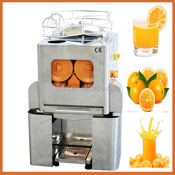 automatic commercial cold press orange juice extractor