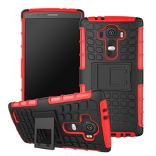 High Quality PC TPU Mobile Phone Cover Shockproof Heavy Duty Case for LG G4