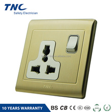 Custom Product Fire Resistant 15 Amp Switched Socket