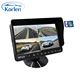 9 inch 4 CH quad DVR digital monitor with video recording function for truck and bus