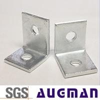 Furniture wood table decorative corner metal right angle brackets