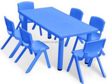Wholesale plastic Used Daycare Furniture Kindergarten Tables and Chairs / Kid Table and Chair set