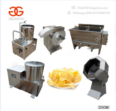 Hot Sale Fully Automatic Fresh Frozen Flakes Stick Sweet Crisp French Fries Frying Making Machine Potato Chips Machinery India