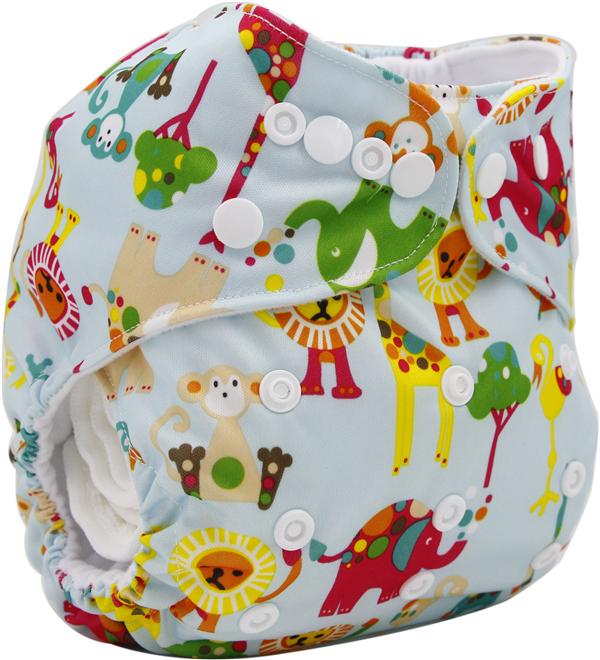 Free Shipping Baby 2016 Reusable and Washable Eco-friendly Baby Diapers New Prints Cloth Diaper