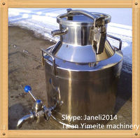 Stainless steel Sanitary milk bucket