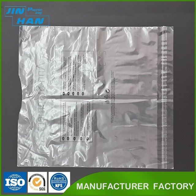 Biodegradable Plastic Printed Package Polybags Custom Printed Heat Seal Plastic Bag for Packing