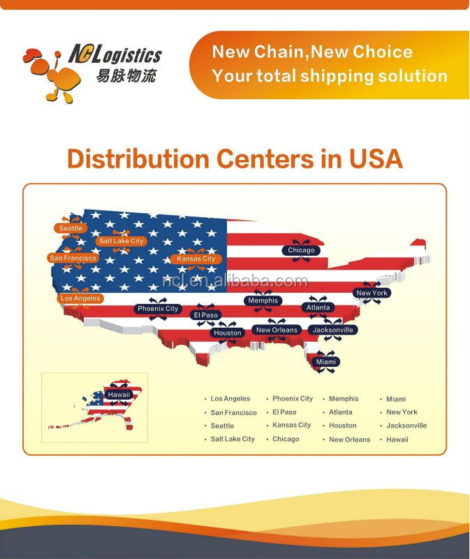 DDP Logistics Services From China To USA Amazon
