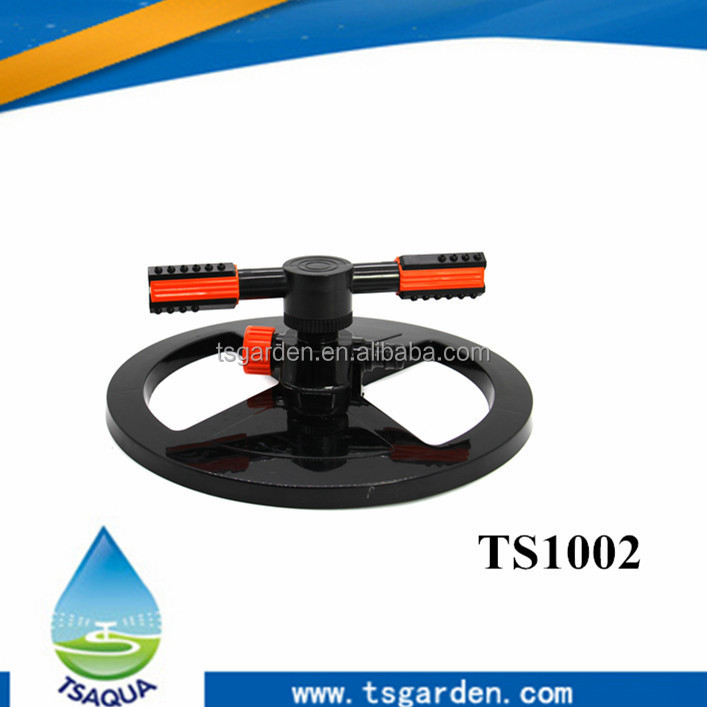 Heavy-Duty Adjustable Circular water Sprinkler for lawns