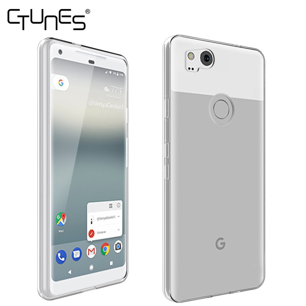 For Google Pixel 2 Case,Clear Slim Thin Scratch Resistant TPU Rubber Soft Skin Protective Case Cover For Google Pixel 2