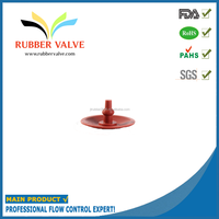 Micro rubber air valve, rubber valve inflation