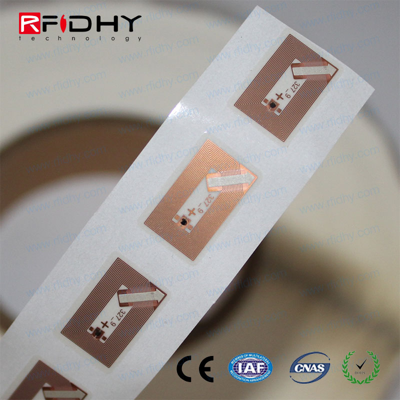 ISO14443A 13.56Mhz mini RFID NFC Sticker Tag embedded in shoes