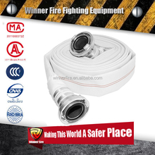 PVC Line Polyester Fire Hose for fire fighter