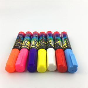 promotional led fluorescent chalk glitter whiteboard marker
