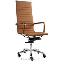 Swivel and movable chair Steel Frame Mechanism modern swivle Lounge Chair (F11-A02)