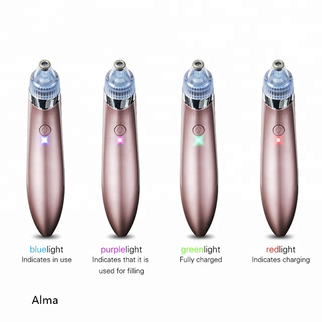 best selling pink white color skin tightening blackhead remover vacuum Product acne remover vacuum for women <strong>beauty</strong>