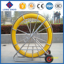 Easy body duct rodder/High strength cable push puller/best selling fiberglass push pull duct rod