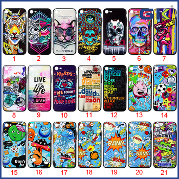 [GGIT] Electroplating Button 3D Embossed Matte PC Soft TPU UV Varnish Hybrid Cover Case For IPhone 7