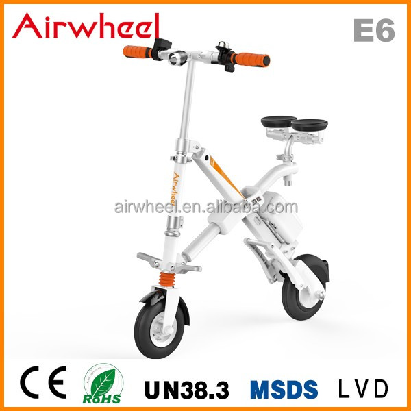 Wholesale Airwheel E6 cheap folding electric bike with lithium battery