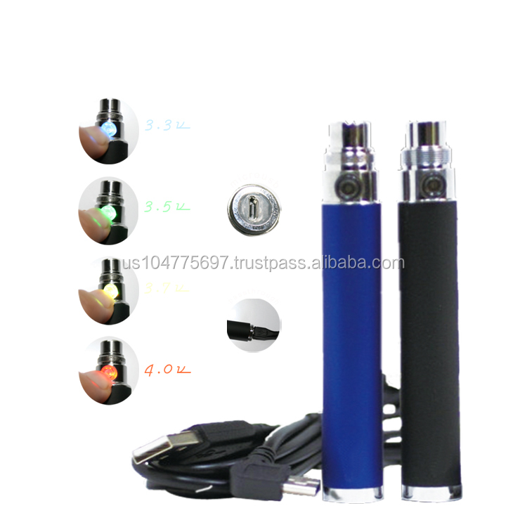 2014 hot products Venusvapor eGO vv clicks 1300mah passthrough electronic cigarette