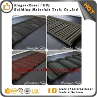 Chinese Roofing Building Material Exporter/Manufacturer/Factory Directly Sell high quality colorful sand coated metal
