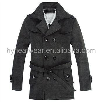 Men Style Battery Heated Winter Coat, Men Long Coat For Winter
