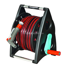 agriculture plastic irrigation pipe hose reel cart for garden