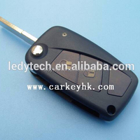 FIAT PUNTO DUCATO STILO Panda Central Car Flip Remote modified 2 button remote key blank
