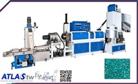 ATLAS HDPE dirty plastic recycling machine