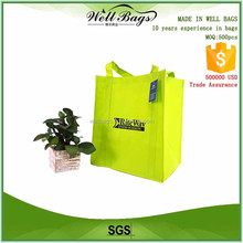 customized recycled fabric food market Grocery shopping Non woven tote bag