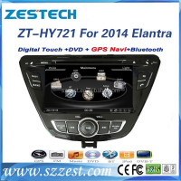 car parts for hyundai elantra 2013 touch screen dvd gps /auto/3G/steering wheel ZT-HY721