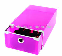 clear plastic storage box for shoes