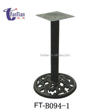 Fantian Dining Coffee Antique Wrought Cast Iron Table Base Table Leg