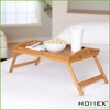 Excellent wooden bamboo bed tray / HOMEX