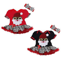 Latest Fancy Kids Princess Dress Christmas Design Baby Girl Party Dresses