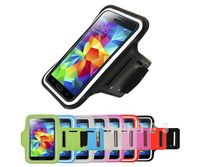Sports Running Armband Case Mobile Phone Arm Belt Holder Pouch Covers Bag for Samsung Galaxy S5 i9600