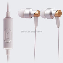 In-Ear mutimedia headset headphone,earphone with Mic for phone, PC
