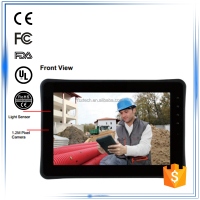 "10.1"" android OS ARM-based 1.0GHz Dual Core Processor rugged ip65 waterproof dustproof tablet computer"