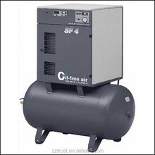 D type water-cooled cng natural gas compressor with China making scroll air compressor