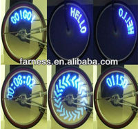 led tire light for cars or bicycles